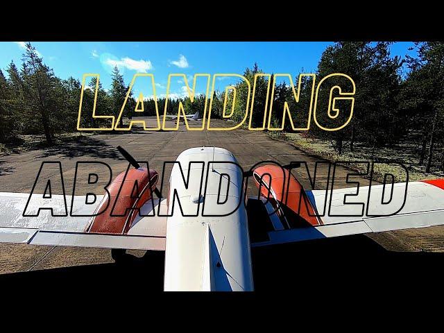 Landing Abandoned military base: Casey