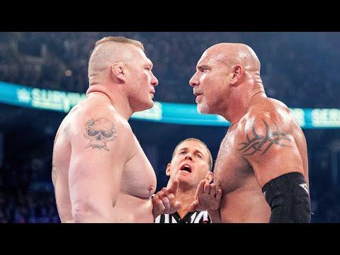 Every Brock Lesnar vs. Goldberg match: WWE Playlist