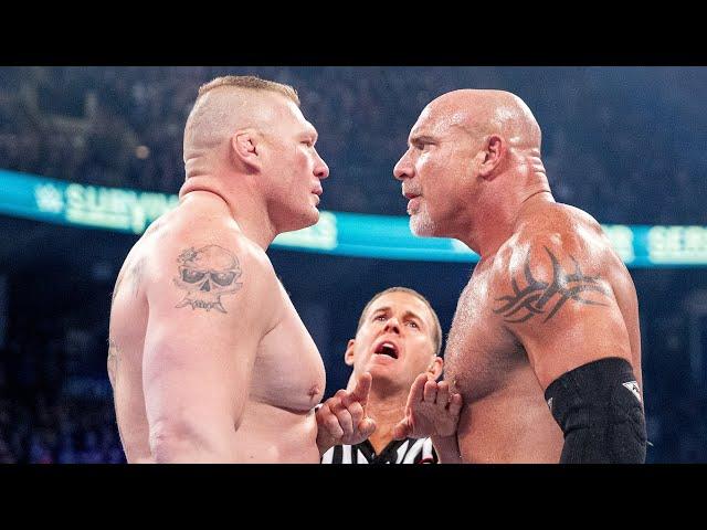 Every Brock Lesnar vs. Goldberg match: WWE Playlist - WWE