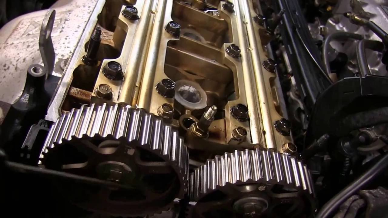 When To Change Timing Belt >> How To Replace A Timing Belt On A Honda 4 Cylinder