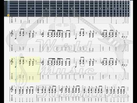 Jimmy Eat World   Authority Song GUITAR 2 TAB