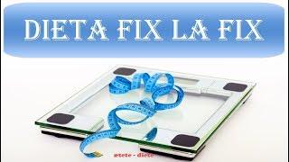 Dieta fix la fix - Cum să slăbești sănătos mâncând la ore fixe