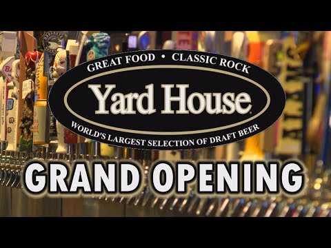 Yard House Opens at Toyota Music Factory in Irving