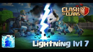 Clash of Clans - New Update! Lightning Spell Level 7 (Sneak Peek)