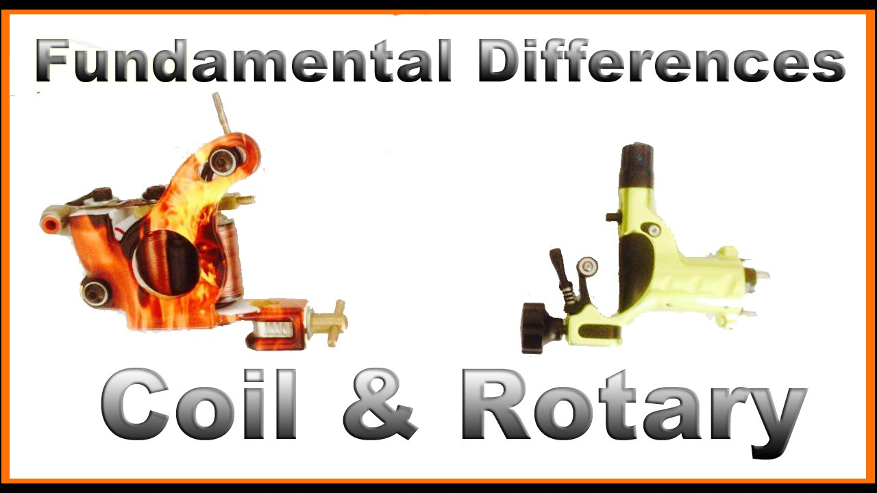 Fundamental Differences: Coil vs Rotary Tattoo Machines - YouTube