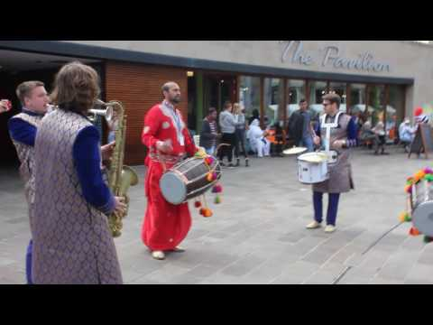 Dhol and Sax Music