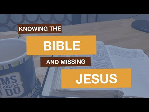 The Scribes: Knowing the Bible and Missing Jesus (Matthew 2:3-5) *fixed*