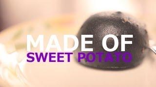 【japanese Food】manju Made Of Sweet Potato At Kawagoe / あまたまかりん