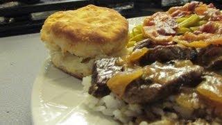 Cajun Gravy Beef Steaks