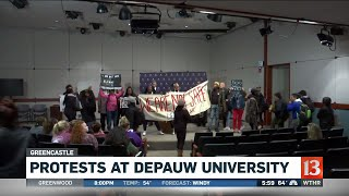 Protests at DePauw