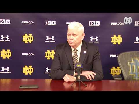 Post-Game Press Conference | @NDHockey vs. Ohio State, Game 2 (2018)