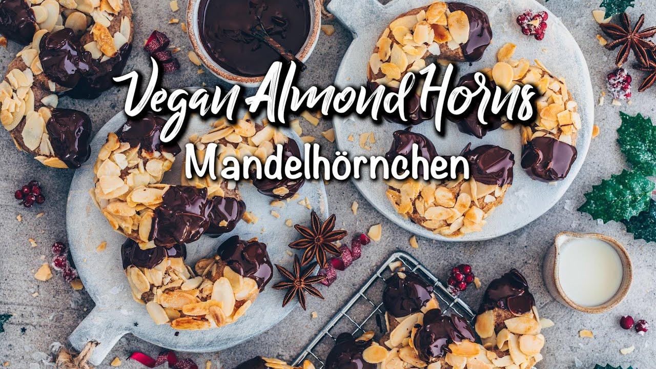 Vegane Mandelhörnchen | einfach & glutenfrei * Rezept