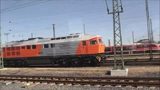 Jens im Einsatz heute,Fahrt nach Döbeln,Erkundung der stillgelegten Strecke nach Meisen Teil 3