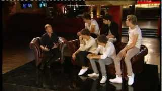 ONE DIRECTION meet groups X FACTOR FULL HD