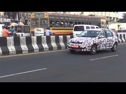 Mahindra Verito CS caught testing in Chennai