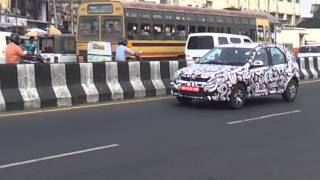 Mahindra Verito CS caught testing in Chennai