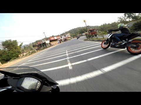 CBR 250 VS KTM RC 200 VS DUKE 200 (FRIENDLY RACE)