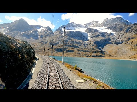 ★ Cab ride St. Moritz - Tirano (Bernina pass), Switzerland to Italy [10.2019]