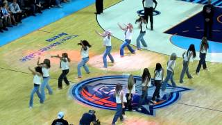 bobcats vs suns ladycats poisin dance 11 7 12