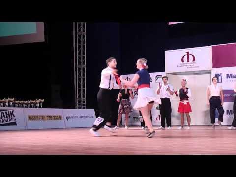 Yann-Alrick et Solenn Boogie World Cup 2010 Moscou Finale Fast