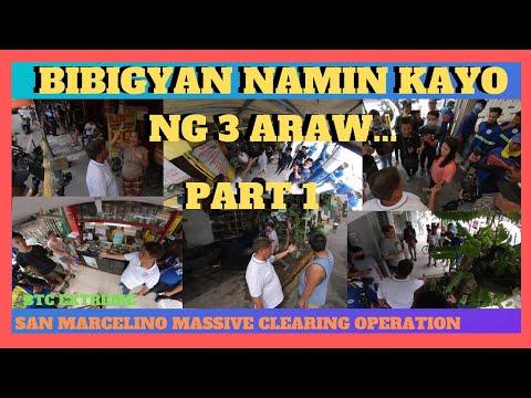 MGA TINDAHAN MAY TANING NA - CLEARING OPERATION - San Marcelino Street, Malate, Manila - 동영상