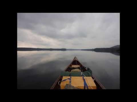 NY ADK Solo Canoe In Deer Hunt