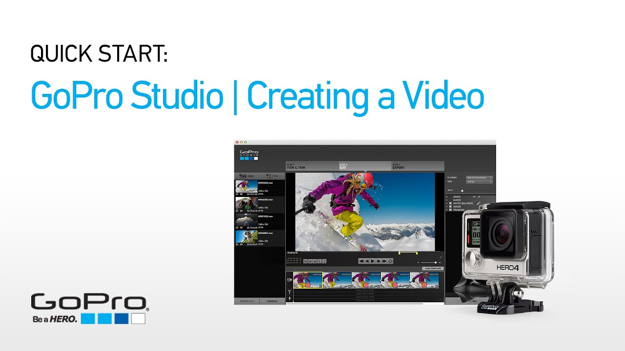 Gopro studio creating a video funnydog tv for How to use gopro studio templates