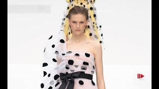 CAROLINA HERRERA Spring Summer 2020 New York   Fashion Channel