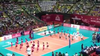 Publication Date: 2016-06-27 | Video Title: FIVB 世界女排大獎賽 2016 - 慈雲山聖文德天主教小
