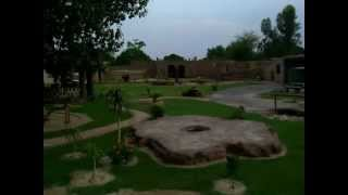 Sheikh Shafiq*s farmhouse in Multan, Pakistan.