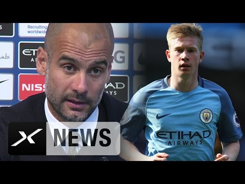 "Pep Guardiola: "" Kevin De Bruyne kann einfach alles"" 