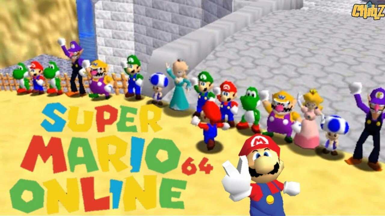 How to play Super mario 64 online + Multiplayer gameplay ! - YouTube