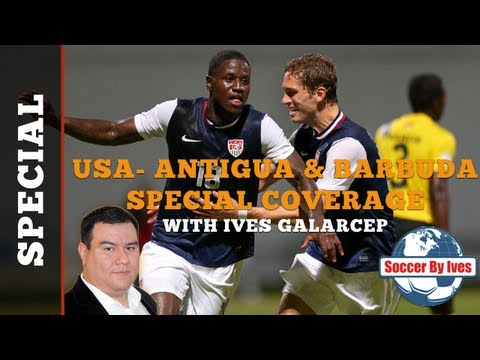 USA-Antigua and Barbuda Special Coverage: The Best Soccer Show