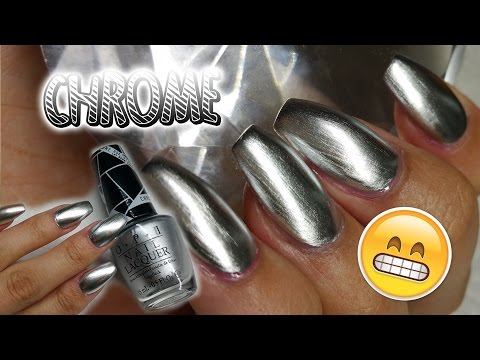 OPI Chrome Effect Nail Polish | Mirror Nails