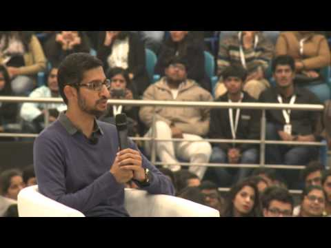 #Ask Sundar: Google CEO Sundar Pichai, live in conversation at Delhi University