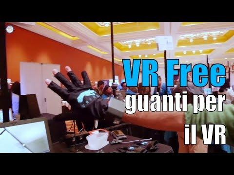 VR Free, i nuovi guanti per la realtà virtuale provati al CES