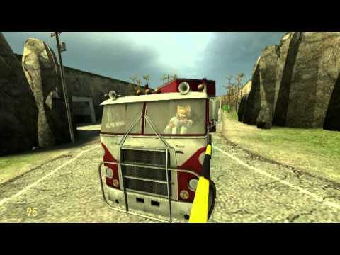 Garry's Mod: Fox McCloud, Truck Driver For Hire