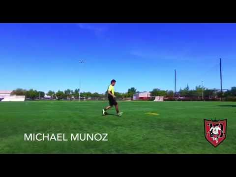 Soccer Training with Michael Muñoz