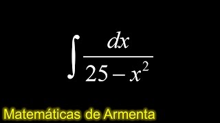 integracion por sustitucion trigonometrica ejemplo 23