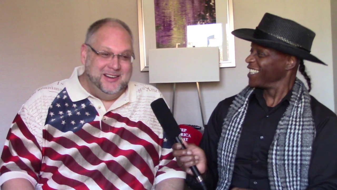 Lloyd Marcus, Unhyphenated American & Steve McPherson, Deplorable @ Trump Train 2020 Video Recording