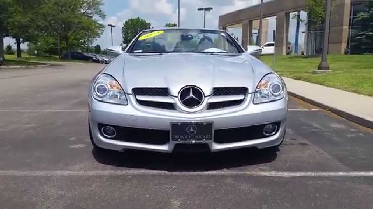 2009 mercedes benz slk300 from crown mercedes benz of dublin oh live market price 27 500