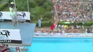 splashdiving wm highlight incl weltrekord elvis arschbombe 40 meter