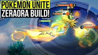 ZERAORA OP BUILD! Pokemon Unite Zeraora Build & Tips!