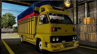 "Gambar cover Modifikasi Truk Mitsubishi ""umplung"" - Euro Truck Simulator 2 Mod Indonesia"