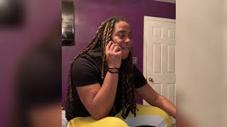 When Black people get furloughed .. New Funny Skit .. Girl and Government Shutdown Comedy Full Video