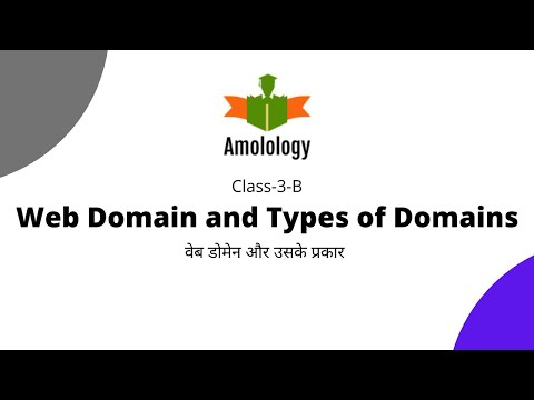 Web Domain working, Types- Generic Top Level Domain | All About Domains | Class 3-B