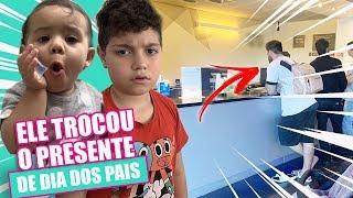 ELE TROCOU O NOSSO PRESENTE - NÃO QUIS! | vlog kathy castricini