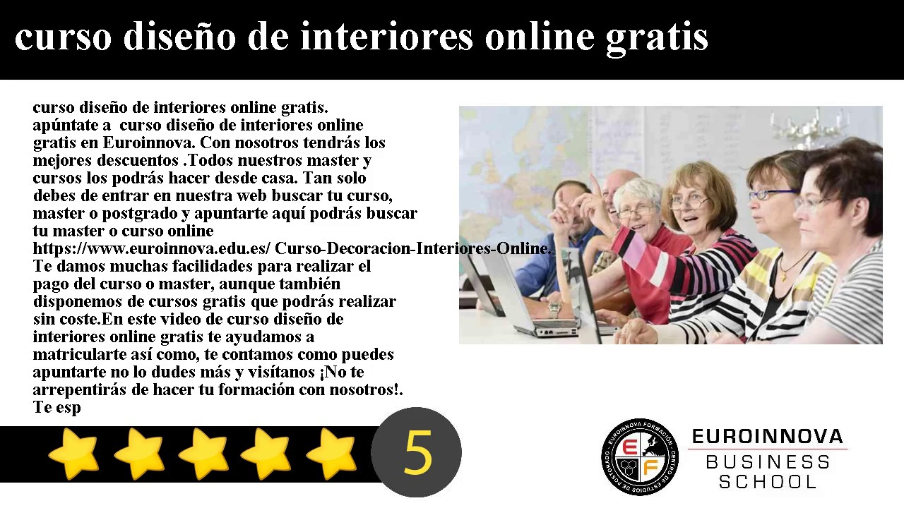 Curso dise o de interiores online gratis youtube for Diseno interiores gratis