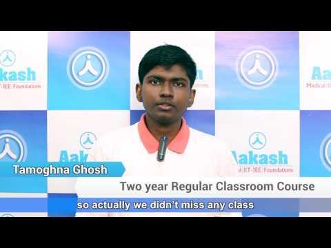 Aakash AIIMS 2017 - Tamoghna Ghosh (AIR-3)