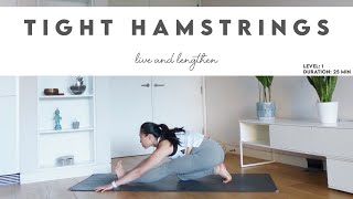 25-Min Yoga for Tight Hamstrings | All Levels | Lydia Lim Yoga